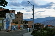 Medellin barrio art, where walls say a thousand words