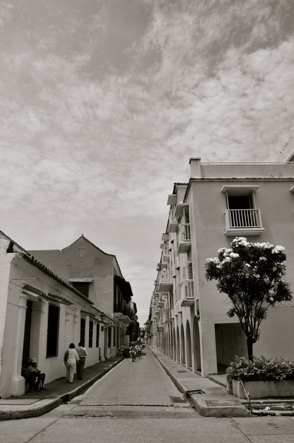 The historical centre of Cartagena