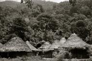 Sierra Nevada: a Kogi tribe village