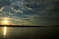 Amazonian sunsets