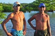 Fishermen in Atins, a village with no roads and 2,000 inhabitants