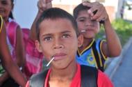 Kids in Paulino Neves