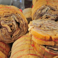 Bacalhau at a market in Manaus