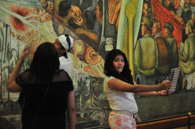 Bellas Artes Selfie