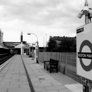 Boston Manor station, Piccadilly Line