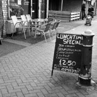 Cheap lunch time specials