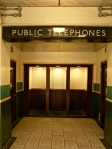 Phoneless booths in Cockfosters station