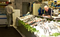 Friendly fishmonger